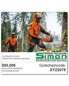 500€ Simon-Profi-Technik.de Gutschein